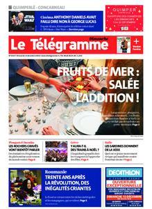 Le Télégramme Concarneau – 15 décembre 2019