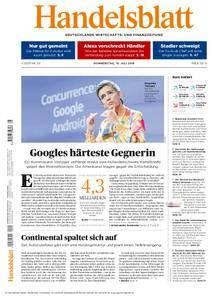 Handelsblatt - 19. Juli 2018