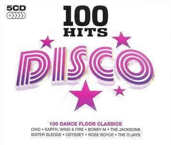 Various Artists - 100 Hits: Disco - 100 Dance Floor Classics [5CD] (2007)