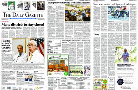 The Daily Gazette – March 14, 2020