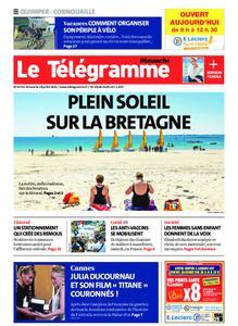 Le Télégramme Ouest Cornouaille – 18 juillet 2021