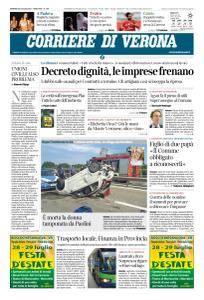 Corriere di Verona - 20 Luglio 2018