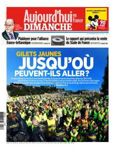 Aujourd'hui en France du Dimanche 18 Novembre 2018