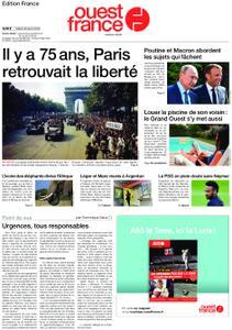 Ouest-France Édition France – 20 août 2019