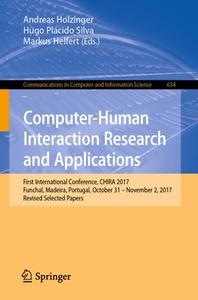 Computer-Human Interaction Research and Applications