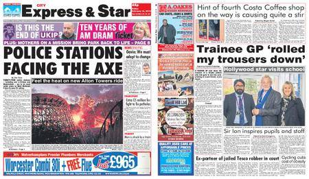 Express and Star City Edition – February 16, 2018