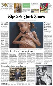 International New York Times - 27-28 October 2018