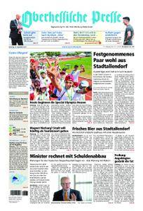 Oberhessische Presse Marburg/Ostkreis - 12. September 2017
