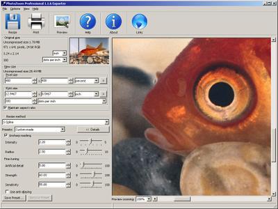 PhotoZoom Professional v1.2.2 - Photoshop Plugin