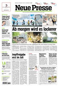 Neue Presse - 19 Mai 2021