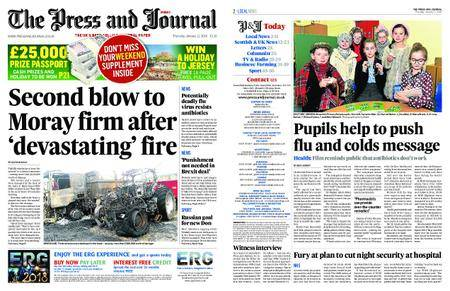 The Press and Journal Moray – January 11, 2018