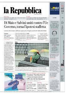 la Repubblica - 16 Maggio 2018