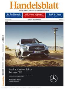 Handelsblatt - 30. Oktober 2018