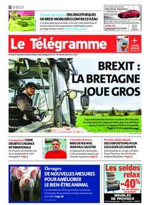 Le Télégramme Brest – 31 janvier 2020