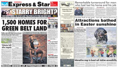 Express and Star Sandwell Edition – April 23, 2019