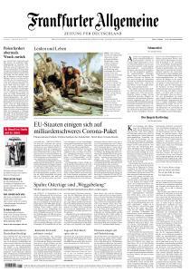 Frankfurter Allgemeine Zeitung - 11 April 2020
