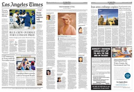 Los Angeles Times – October 19, 2020