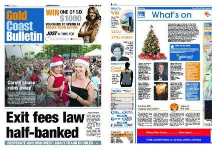 The Gold Coast Bulletin – December 13, 2010