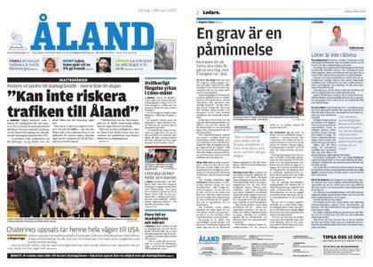 Ålandstidningen – 01 februari 2020