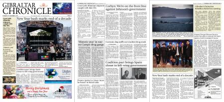 Gibraltar Chronicle – 31 December 2019