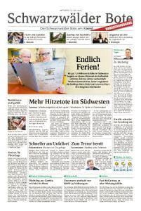Schwarzwälder Bote Hechingen - 25. Juli 2018