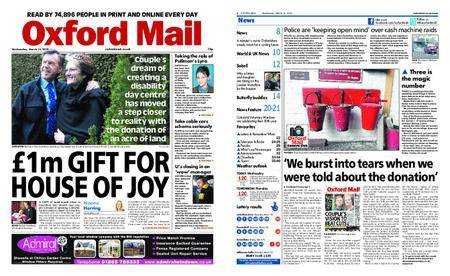 Oxford Mail – March 14, 2018