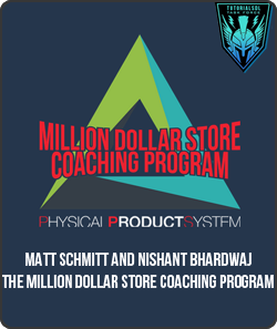 Matt Schmitt – The Million Dollar Store Coaching Program (2016)