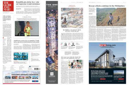 The Globe and Mail – September 18, 2018