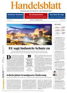 Handelsblatt - 3 Februar 2020