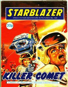 Starblazer 120 - Killer Comet (1984) (PDFrip