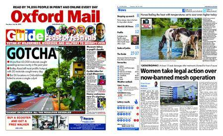 Oxford Mail – July 26, 2018