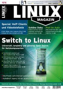 Linux-Magazin – Oktober 2016