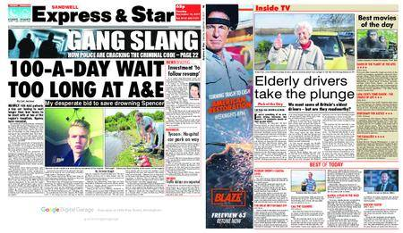 Express and Star Sandwell Edition – September 19, 2017