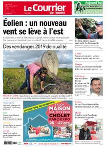 Le Courrier de l'Ouest Cholet – 25 octobre 2019