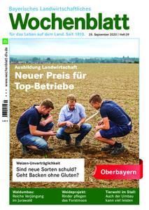 Bayerisches Landwirtschaftliches Wochenblatt Oberbayern - 24. September 2020