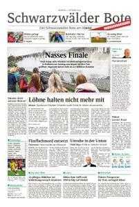 Schwarzwälder Bote Bad Wildbad - 07. Oktober 2019