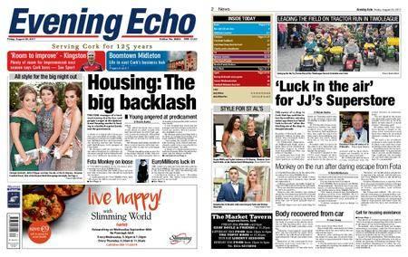 Evening Echo – August 25, 2017