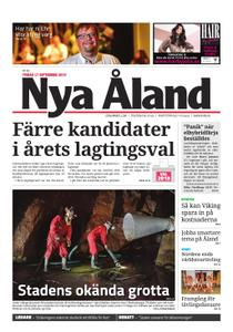 Nya Åland – 17 september 2019