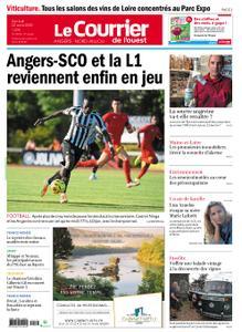 Le Courrier de l'Ouest Angers – 22 août 2020