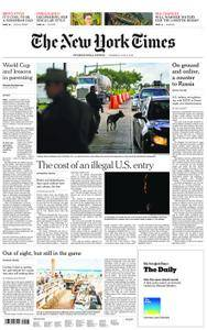 International New York Times - 05 July 2018