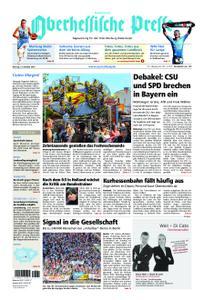 Oberhessische Presse Hinterland - 15. Oktober 2018