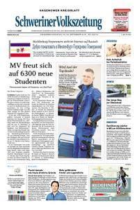 Schweriner Volkszeitung Hagenower Kreisblatt - 22. September 2018
