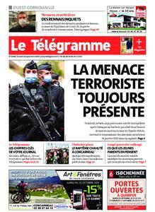 Le Télégramme Ouest Cornouaille – 26 septembre 2020