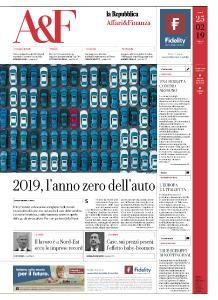 La Repubblica Affari & Finanza - 25 Febbraio 2019