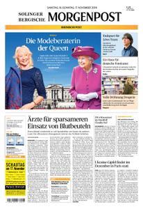 Solinger Morgenpost – 16. November 2019