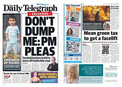 The Daily Telegraph (Sydney) – August 20, 2018