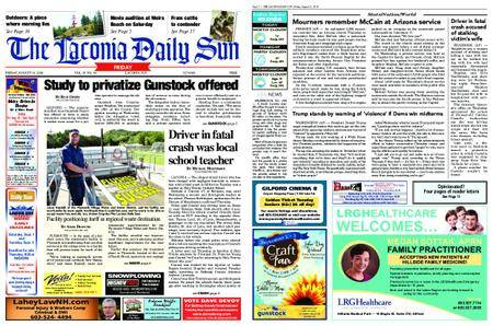 The Laconia Daily Sun – August 31, 2018