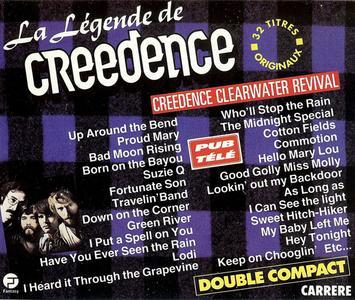 Creedence Clearwater Revival - La Légende De Creedence (2CD) (1991) {Fantasy/Carrere}