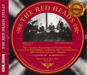 The Red Heads - The Complete Recordings (2004) {3CD Set Jazz Oracle BDW8043 rec 1925-1927}