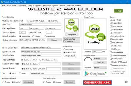 Website 2 APK Builder Pro 3.2